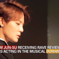 "[ENG VIDEO] 160921 Arirang TV-Showbiz Korea: Kim Junsu is receiving rave reviews for his acting in ""Dorian Gray"" Musical"