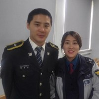 [OTHER INSTAGRAM] 170420 Choi Sun-kyung shared a photo of Junsu the Gyeonggi Nambu policeman