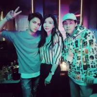 [OTHER INSTAGRAM] 170527 Park Yuri shares a photo with Kim Jaejoong and Henry Lau