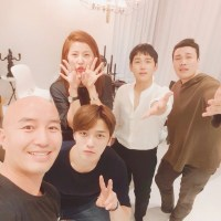 [SNS] 170627 Triangle Cast Reunion - Kim Jaejoong, Im Siwan, Lee Yoonmi, Hong Seok-cheon, Shin Seung Hwan and Oh Yeonsoo