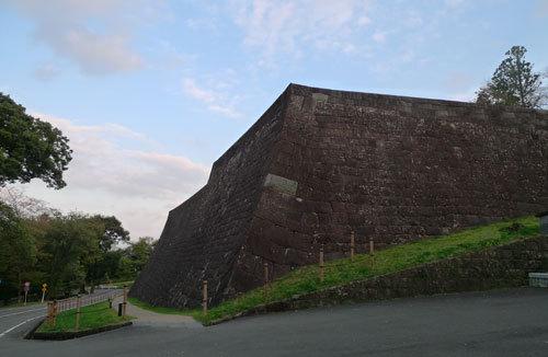 仙台城跡石垣