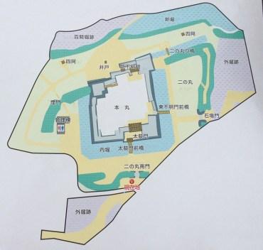 松代城地図