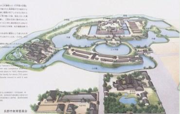 松代城復元図