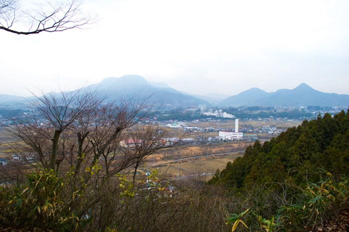 沼田城からの眺め2