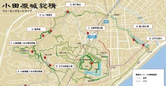 小田原城総構マップ