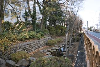 高崎城 土塁と堀