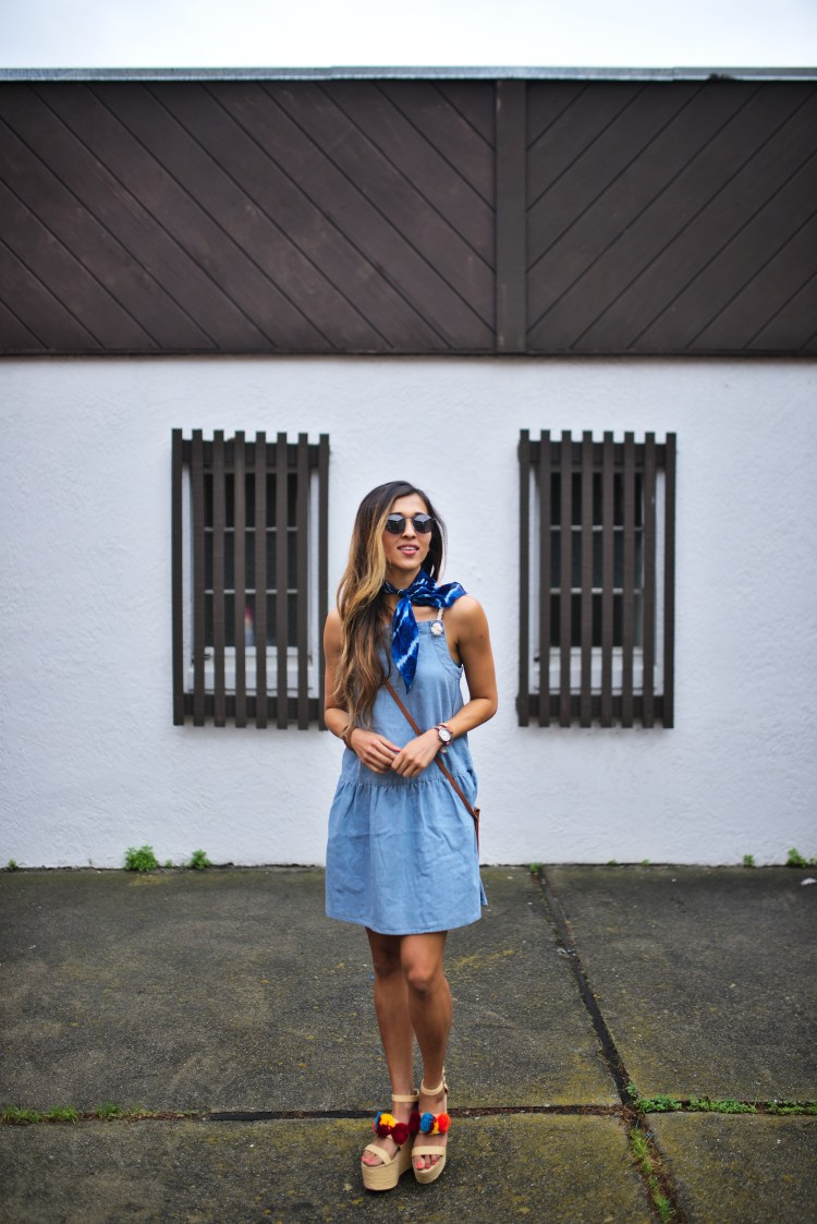 cuppajyo-sanfrancisco-lifestyle-fashion-blogger-asos-denimdress-pompomwedges-2