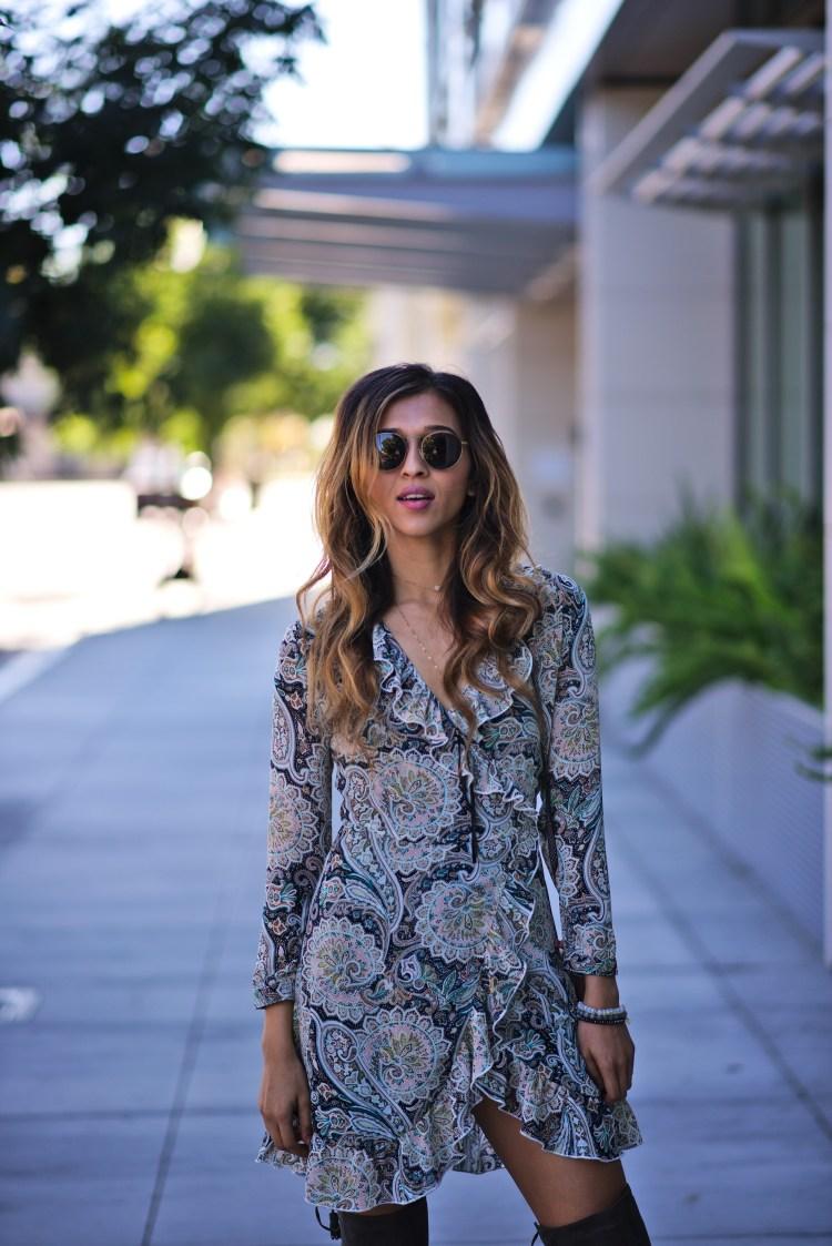 cuppajyo_sanfrancisco_bayarea_fashion_lifestyle_travelblogger_callitspring_wyldr_revolve_ruffled-_wrap_minidress_overthekneeboots_fallfashion_streetstyle_1