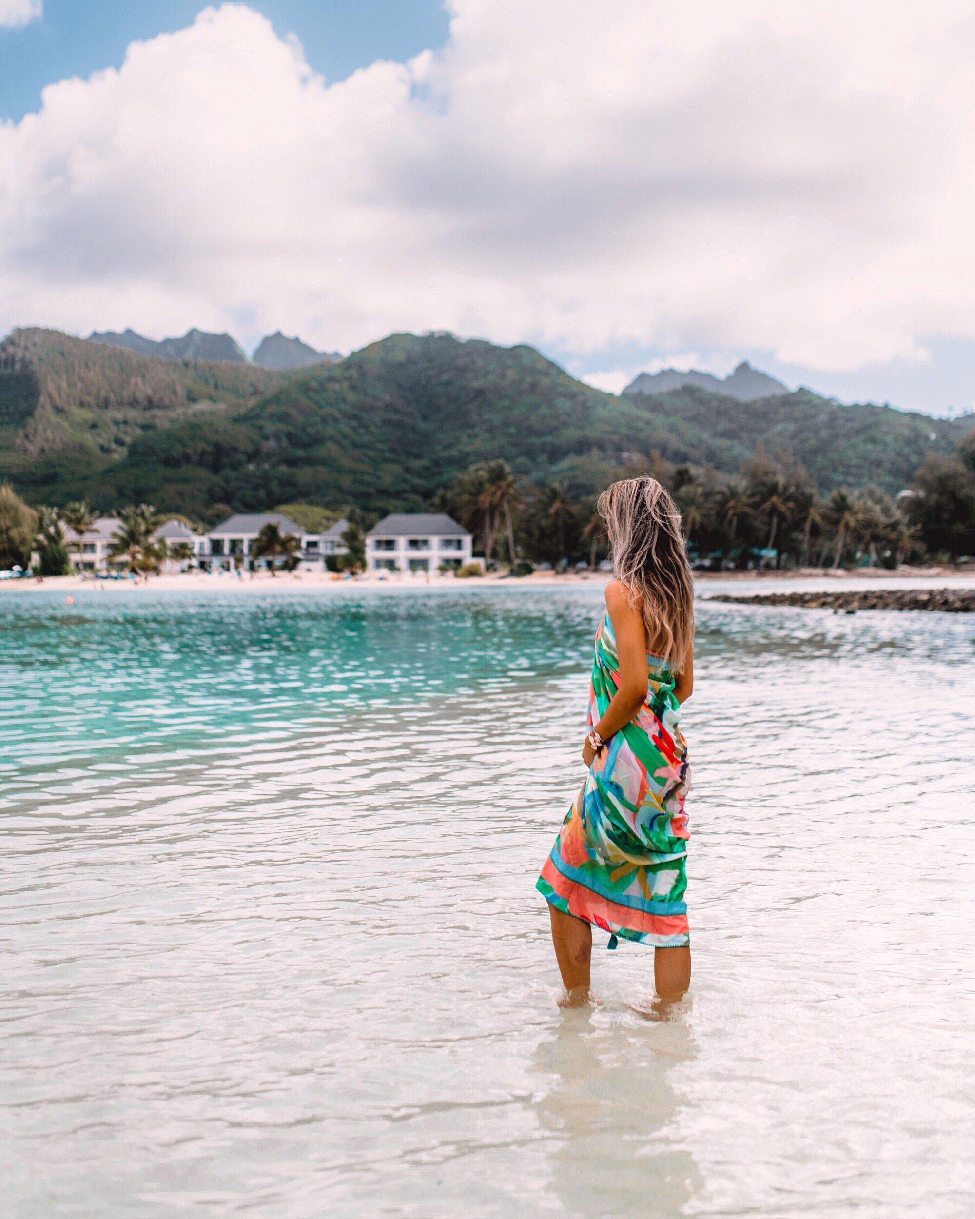 Cook Islands Rarotonga Beach: Cook Islands : Muri Beach Club Hotel, Rarotonga