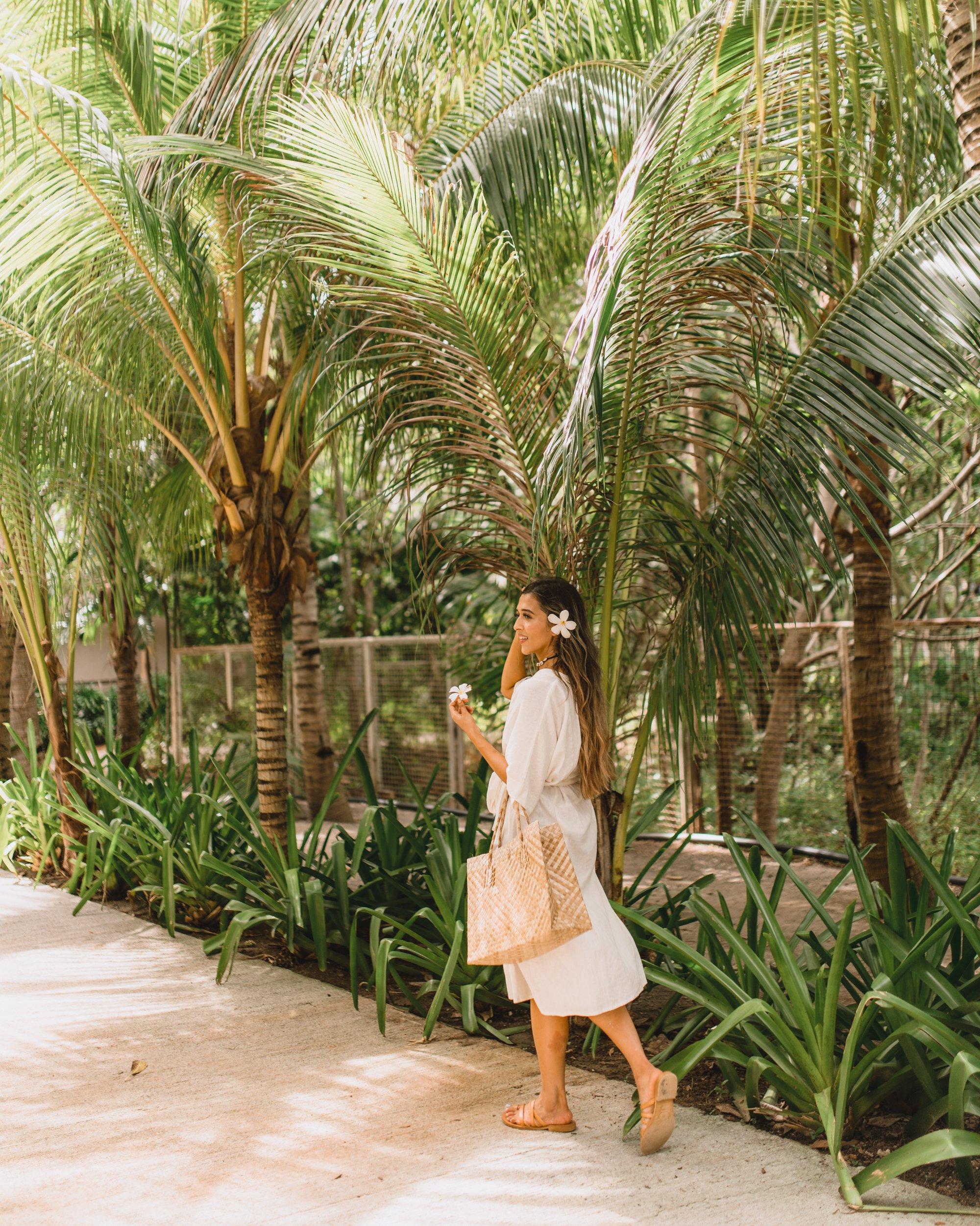 White button down midi dress in the Philippines