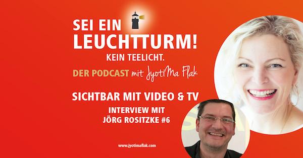 Sichtbar mit Video & TV – Interview mit Jörg Rositzke von Hamburg 1 Fernsehen