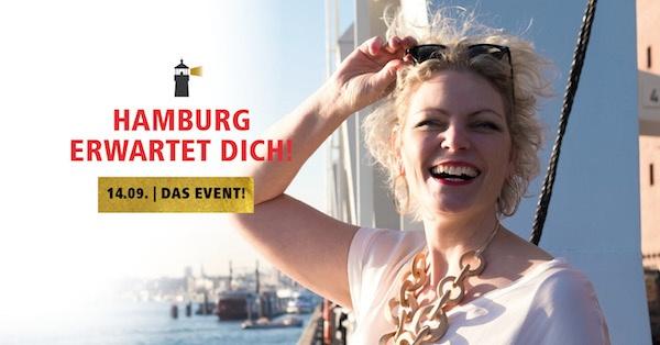 Hamburg erwartet dich! Das Event für mehr Sichtbarkeit