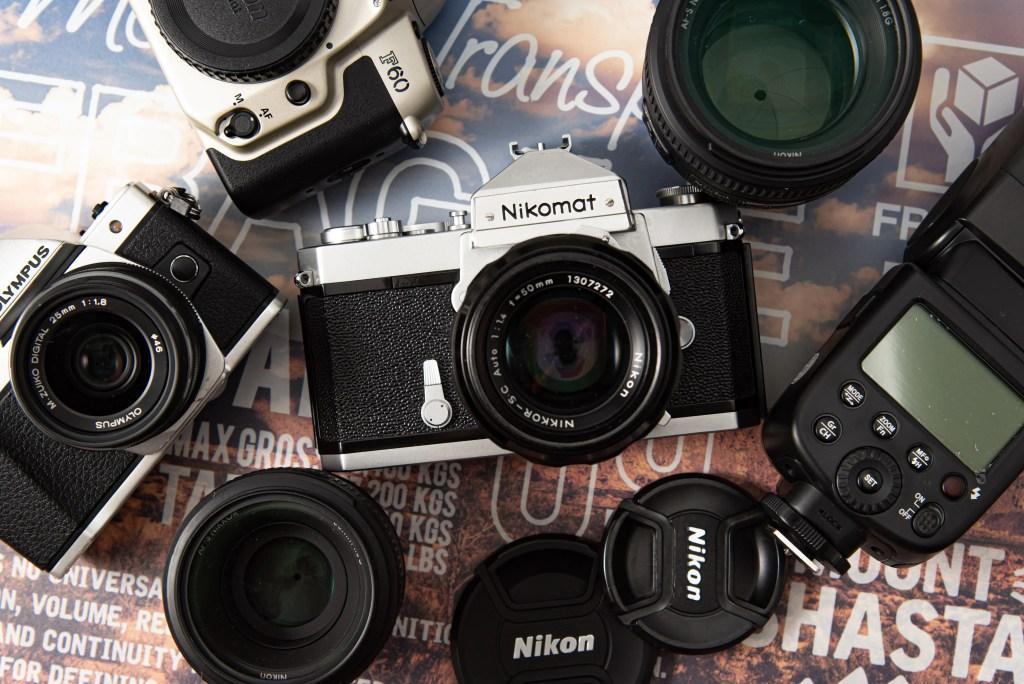中古カメラとレンズはあり?なし?の写真