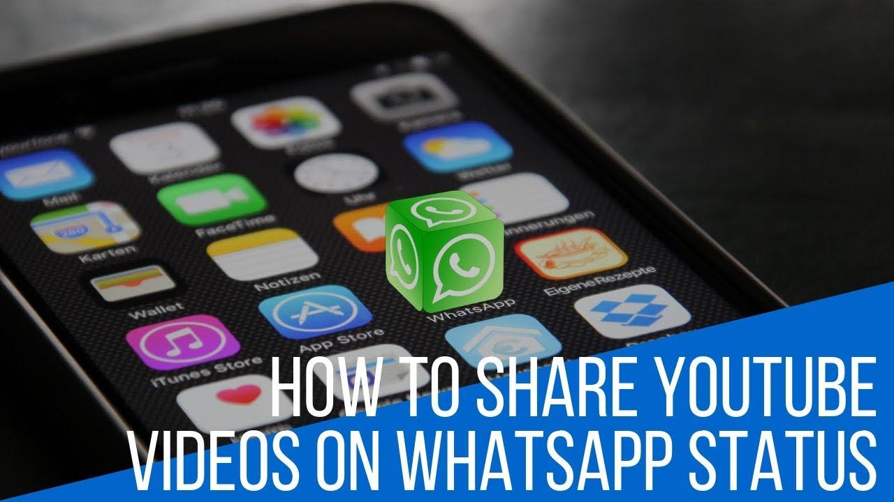How To Share Youtube Videos On Whatsapp Status Jypsyvloggin