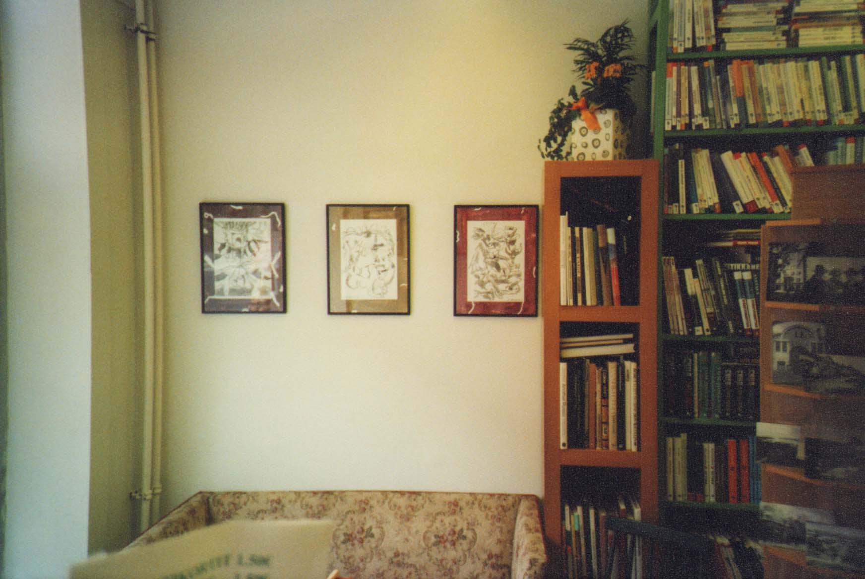 Kahdeksan piirrosta, Kirjakauppa Oiva, Kuopio, 2008