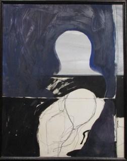 Aziz ABOU ALI, Sans titre, 1970, Gouache et encre sur papier, Collection particulière