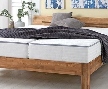 Set letto materasso effetto massaggiante e rete a doghe legno ortopedica offerta. Aquista Mobili Per La Camera Da Letto In Offerta Jysk