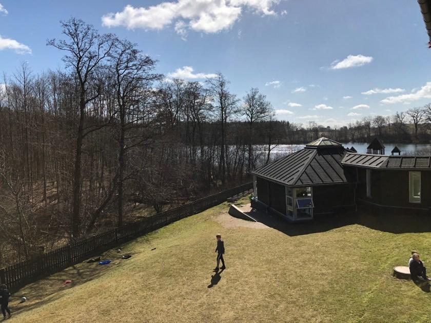Søholmskolen fra luften