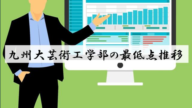 九大芸術工学部の合格最低点推移(改)