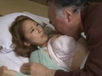 義父の看病をする美人妻がセックスを懇願され言いなりに体を舐め回す人妻熟女動画