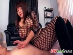 豊満美熟女が全身網タイツでセックスしているjukujyo動画