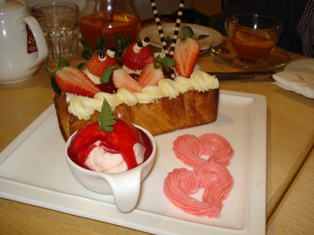Jyunbugspeaks in Taiwan: Wacky wonderful foods of Taiwan pt.2 - Perfume Dance Cafe (5/6)