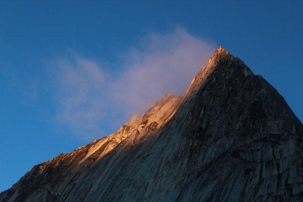 Bugaboo Spire's Northeast ridge.