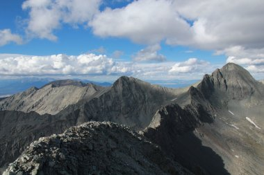 The same view this past weekend, before finally embarking on the traverse.