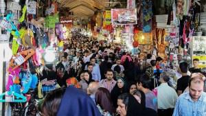 テヘランのバザール風景