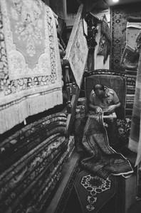トルコ 絨毯工房