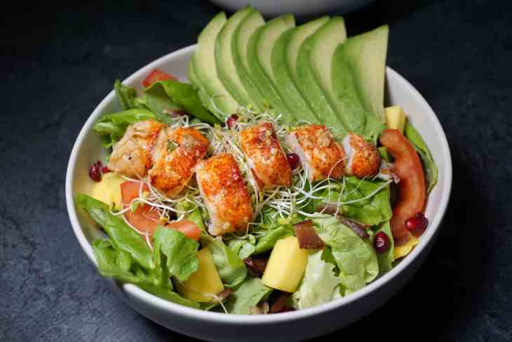 Whole30 Recipes: Lobster Salad With Avocado - JZ Eats