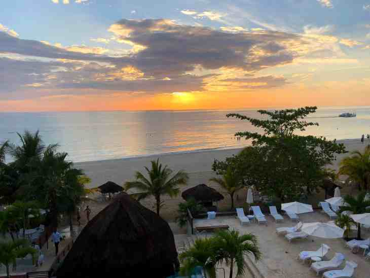 Negril sunset at Couples Swept Away