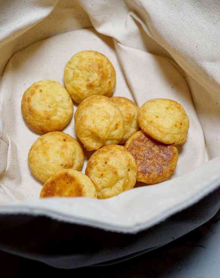 Gougers from Baltimore French Restaurant Chez Hugo in Baltimore - gruyere cheese puffs