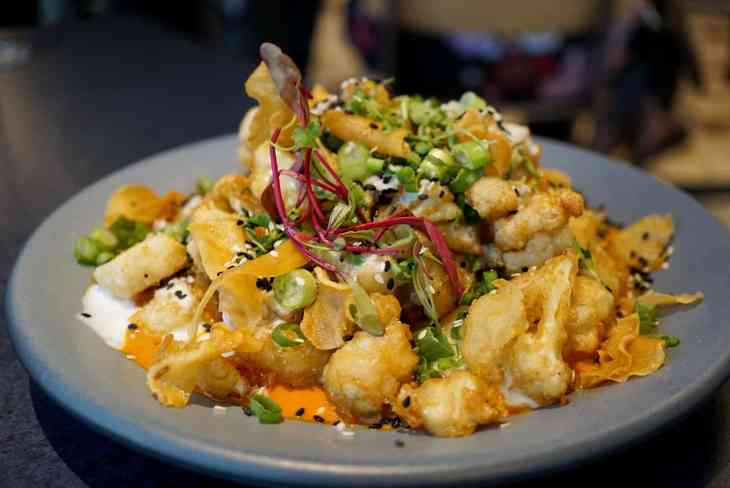 Baltimore Staycation at Hotel Revival - Cauliflower at Topside