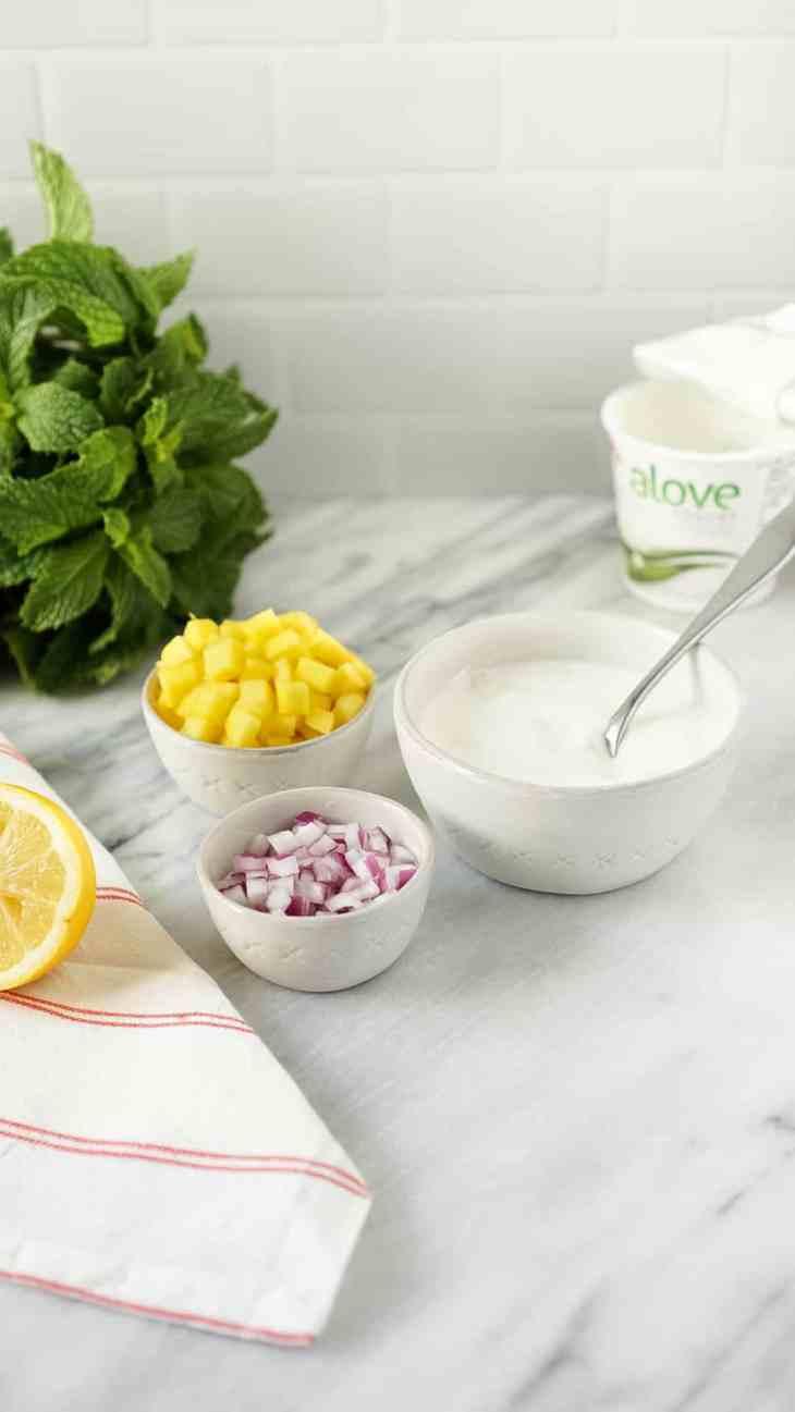 mango yogurt chutney ingredients