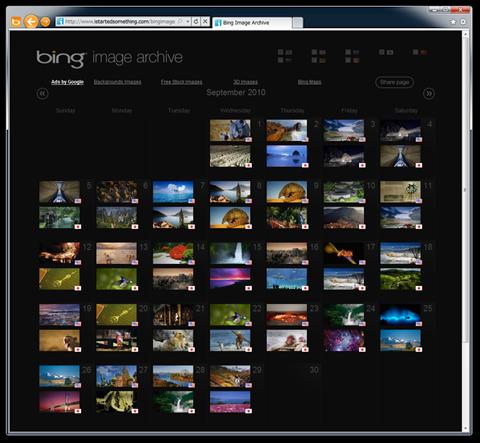 Bing Image Archive - Bing