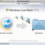 Live Mesh for Mac いれてみた。