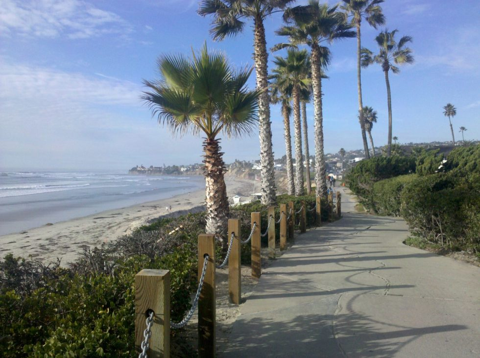 Pacific Beach Path