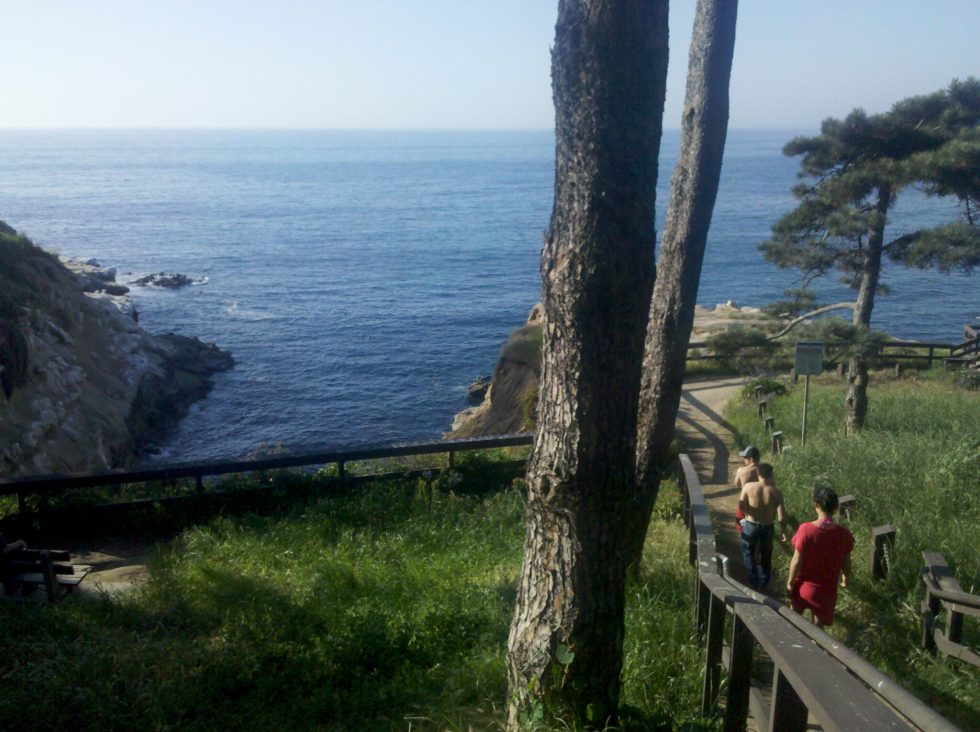 La Jolla Village Coast Trail by the Cove