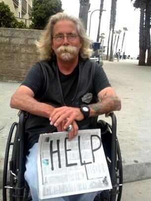 Homeless in PB --David