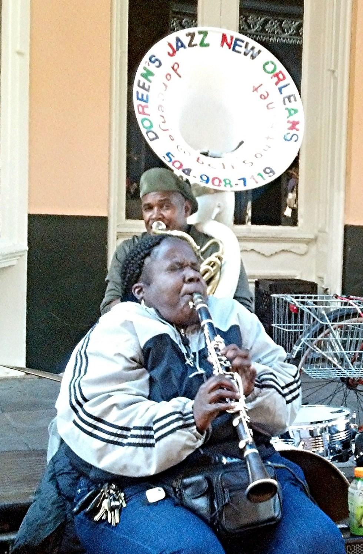 New Orleans street jazz!
