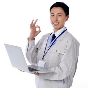 パソコン訪問設定のイメージ