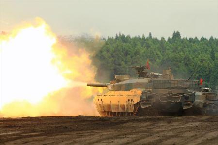 前段8・戦車火力8-9_10式戦車・班集中射撃_富士総合火力演習・そうかえん_15_R