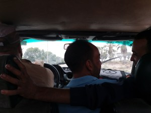K in Motion Travel Blog. Southern Morocco and Western Sahara. Lovers in the Front Seat?