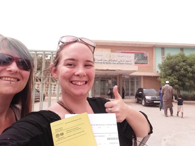 K in Motion Travel Blog, The Mauritanian Capital Nouakchott. Yellow Fever Vaccine Mission Completed