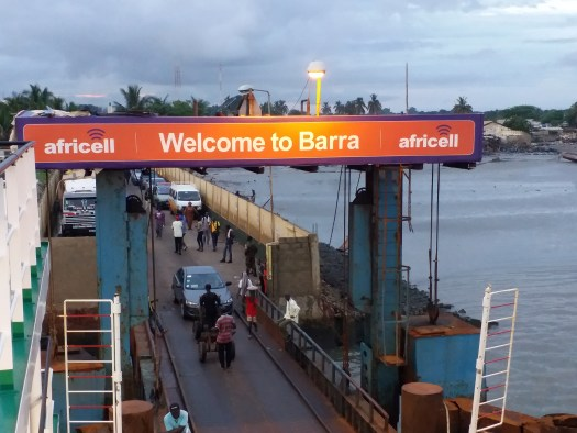 K In Motion Travel Blog. On the Way to Barra, Gambia