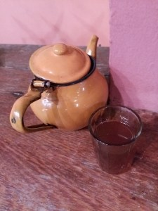 K in Motion Travel Blog. Cote d'Ivoire. My very own Tea Pot