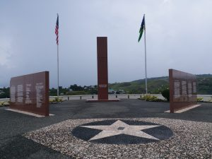 K in Motion Travel Blog, Solomon Islands Peace Park Memorial, Honiara, Guadalcanal