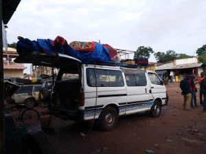 K in Motion Travel Blog. 6 Things To Know About Travel in Africa. Intercity Van