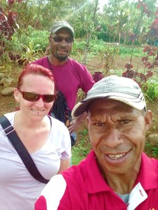 K in Motion Travel Blog. Petty Theft and Pragmatism in Papua New Guinea. Sam, Robert and I